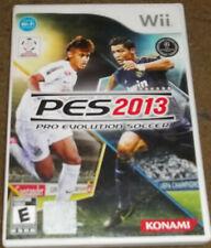 PES 2013 Pro Evolution Soccer Wii Game Konami
