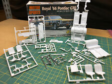 66 Pontiac GTO Chassis SUSPENSION & Interior Revell 1:25 LBR Model Parts FOB