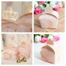 20x PINK PARTY BABY SHOWER CHRISTENING WEDDING FAVOUR BONBONNIERE BOXES