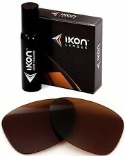 Polarized IKON Replacement Lenses For Oakley Dispatch 2 Sunglasses Bronze