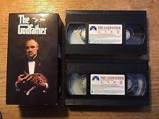 """The Godfather"" (Vhs, 1990, 2-Tape Set) Part 1 - Marlon Brando"