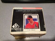 1999 SP TOP PROSPECTS  BASEBALL PARTIAL SET 116 of 126 Cards