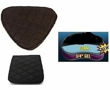 Motorcycle Seat Gel Pads Driver + Back Seats set for Harley Ultra Classic Jumbo