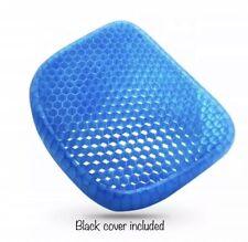 Sarayova Gel Pad Cushion Seat Honeycomb Gel Structured Back Support