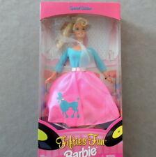Barbie 1990s Doll Vintage Fifties Fun Retro Poodle Skirt Mattel Nrfb Mattel
