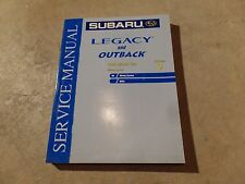 2004 Subaru Legacy and Outback Factory Service Manual Vol 9 Wiring System