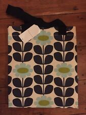 Orla Kiely Tall Trees Large Shopping Tote Bag Limited Edition Meadow Flowers NEW