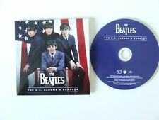 THE BEATLES THE US ALBUMS SAMPLER PROMO CD CARDSLEEVE