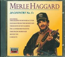 Merle Haggard - 20 Country No. 1'S Cd Ottimo Vg