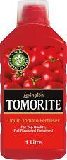 Levington Tomorite Liquid Concentrate Full Tomato Fertiliser Bottle 1l