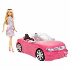 Barbie Convertible Car And Doll Set