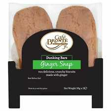 Cafe Bronte Ginger Snap Dunker Biscuits Twin Pack - 24x2x30g