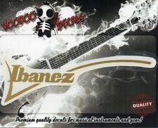 Ibanez RG Custom Guitar Headstock Vinyl Decal