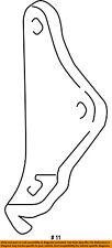 FORD OEM 05-06 F-350 Super Duty Steering Gear-Damper Bracket 5C3Z3E652BA