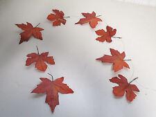 Girlande Ahorngirlande Ahorn Herbstdeko Herbst Deko künstlich Floristik wie echt