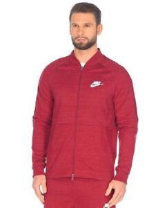 Nike Mens Sportswear Advance 15 Jacket - 896896-677 - Sz XXL - Rouge