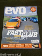 EVO MAGAZINE # 69 - SAAB 9.2X AERO - AUDI RS6 PLUS - JULY 2004