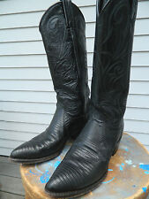 1980's Dan Post Western Boots / Us Woman's size: 5 1/2 M / Used / V Good Cond.