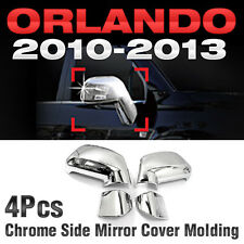 Chrome Side Mirror Cover Molding Garnish Trim For CHEVROLET 2010-2017 Orlando