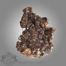 Vesuvianit Pakistan sehr schöne Stufe mit tollen Kristallen