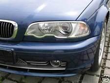CADRES DE PHARES CHROMÉ pour BMW E46-3 98-03 2p
