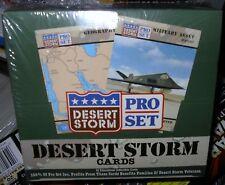PRO SET DESERT STORM  TRADING CARDS   SEALED BOX  36CT