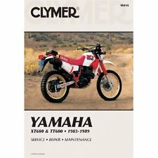 CLYMER MOTORBIKE WORKSHOP SERVICE REPAIR MANUAL BOOK YAMAHA XT600 TT600 83-89