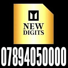 GOLD UNIQUE VIP MOBILE PHONE NUMBER SIM CARD EXCLUSIVE EASY TO REMEMBER 🇬🇧
