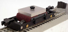 O Gauge Track Cleaning Car by Bridge Masters CNC Machined - New - Free Shipping