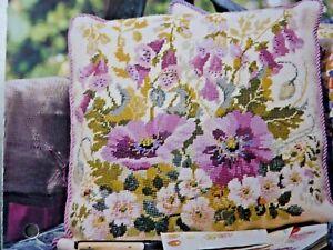 5911]Tapestry Chart-Foxglove Flower Design