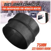 75mm Duct Joiner Connector 221000010006 For Webasto Eberspacher Diesel Heater