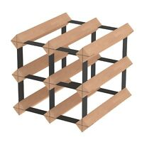 6 Bottle Timber Wine Rack - The Entry Level Wine Storage System by Wine Stash