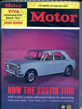 The Motor Magazine October 23 1963 The Austin 1100 VGEX 121915jhe