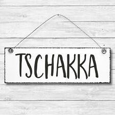 Wandschild Dekoschild Schild Shabby Chic Vintage Geschenk WHAT YOU LOVE 20 x 30