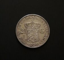 1930 Netherlands Crown Size Silver Coin Free Registered Post.