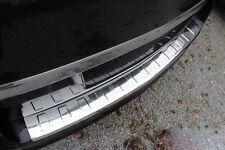 Opel Astra H Caravan Kombi Ladekantenschutz Edelstahl Abkantung Stoßstange