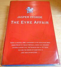 """JASPER FFORDE """"THE EYRE AFFAIR""""   1ST/1ST SIGNED"""