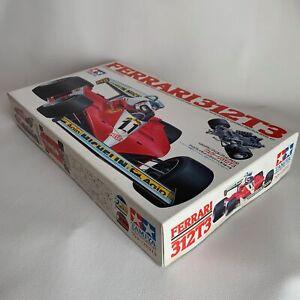 Tamiya 1/20 Ferrari 312T3 Gilles Villeneuve Carlos Reutemann Plastic Model Kit