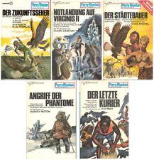 5 Moewig Taschenbücher Perry Rhodan Bd. 150 bis 154 1976