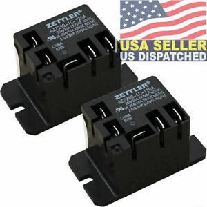 2x American Zettler AZ2280-1C-120A Power Relay, SPDT, 30A, 115v, 30A SPDT 120VAC