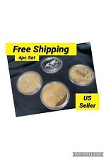 New Version Crypto Currency Physical Coins Commemorative Collection. Bitcoin.Set