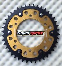 Supersprox Kettenrad GSX-R 1000, K9-L6, 479-42 gold, sprocket, Stealth, couronne