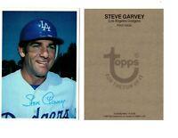 1980 STEVE GARVEY TOPPS BASEBALL LARGE CARD 5 x 7 LOS ANGELES DODGERS 13 of 60