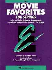 """""""ESSENTIAL ELEMENTS-MOVIE FAVORITES FOR STRINGS""""-VIOLA-MUSIC BOOK NEW ON SALE!!"""