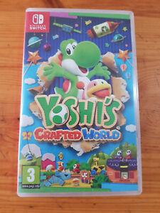 Yoshi's Crafted World (Nintendo Switch, 2019) Complet état comme Neuf