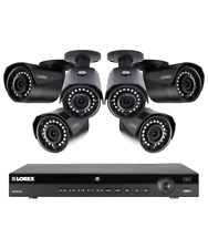 Lorex 8 channel NR9082 4K home security system with 6 weatherproof 4MP Bullet...