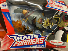 Transformers Animated Voyager Class Grimlock New Rare