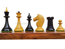 Russian USSR Weighted Chess Pieces 1950's Soviet Latvian Reproduced Weighted
