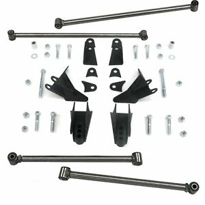Chevy Truck S10 1994 - 2004 Heavy Duty Triangulated 4-Link Kit