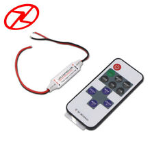 1pcs Mini 12V RF Wireless Remote Switch Controller Dimmer for LED Strip Light